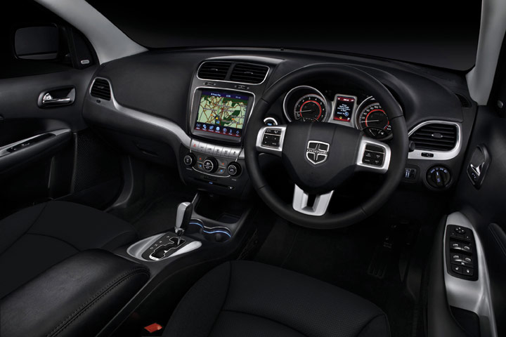 Dodge 174 Australia The New Dodge Journey Interior